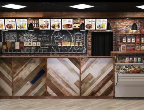 Дизайн-проект магазина разливного пива