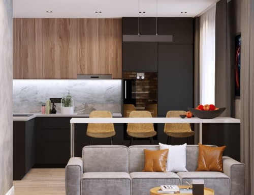Дизайн-проект квартиры ЖК «Васенко»